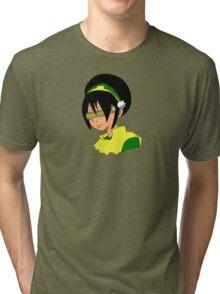 Toph Geordi Visor Tri-blend T-Shirt