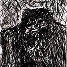 Mad Gorilla by LordMasque