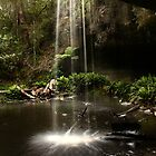 Lower Kalimna Falls, Great Ocean Road by Sue Hawken