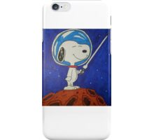 Snoopy In Space iPhone Case/Skin