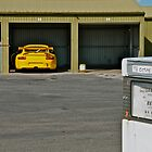 GT3 Cup car in the garage by ibz777ibz