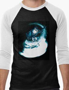 Skeleton Sorceror Men's Baseball ¾ T-Shirt