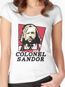 Colonel Sandor Women's Fitted Scoop T-Shirt
