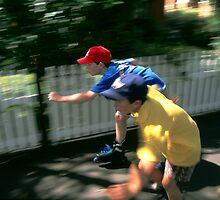 roller skating  by Brian McInerney