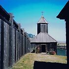 A Church in Fort Ross, Nothern California, 2007 by Igor Pozdnyakov