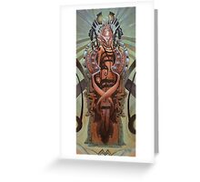 The Coffin Bloom Greeting Card