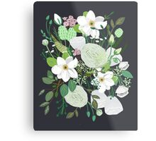Floral Forest Metal Print