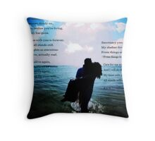 TIME WITH YOU Throw Pillow