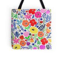 Secret Flower Garden Tote Bag