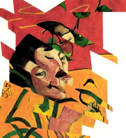 Collage Jigsaw Puzzle Piece Number 89. Sticker