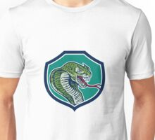 Cobra Viper Snake Shield Retro Unisex T-Shirt