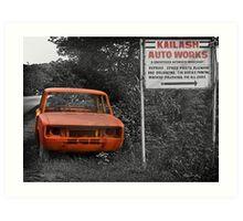 Better you fix your car! Art Print