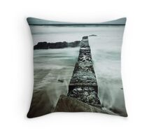 See Me Cyan - Thompsons Bay Throw Pillow