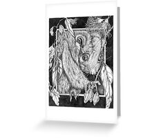 Midnight Feast I Greeting Card