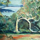 Killcare Bay Angophora by Ann Pigott by AnnieP