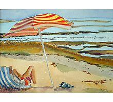 The French Watercolors:  Il d'Oleron Photographic Print
