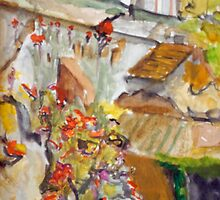 The French Watercolors:  ma maison en ville  by Phyllis Dixon