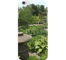 Colorful Garden, Queens Botanical Garden, Flushing, New York iPhone Case/Skin