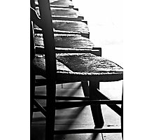 Sit down or move.. Photographic Print