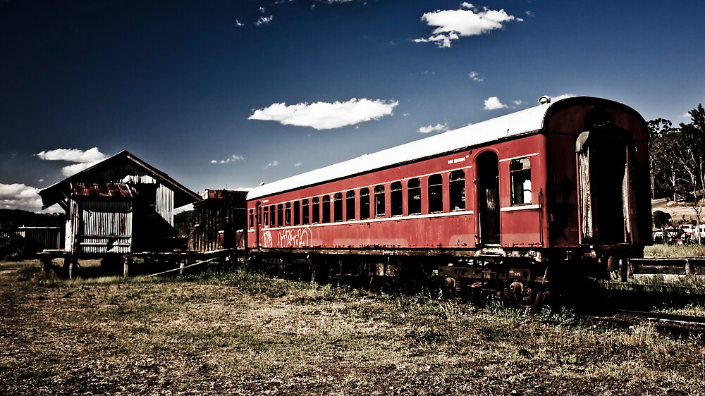 Train to Nowhere by Daniel Peut