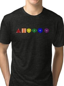 Gay Pride (Polyhedral Edition) Tri-blend T-Shirt
