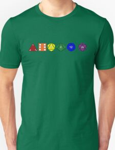 Gay Pride (Polyhedral Edition) Unisex T-Shirt