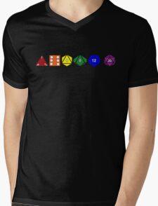 Gay Pride (Polyhedral Edition) Mens V-Neck T-Shirt