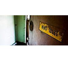 Restroom Photographic Print