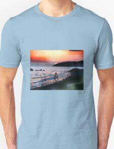 Sunset over Binigaus Unisex T-Shirt
