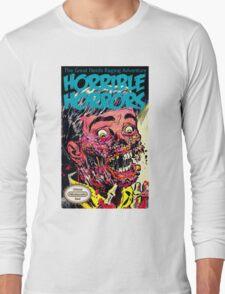 Horrible Horrors NES Long Sleeve T-Shirt