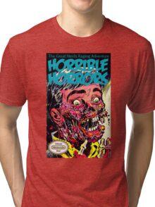 Horrible Horrors NES Tri-blend T-Shirt