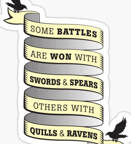 Quills & Ravens Sticker