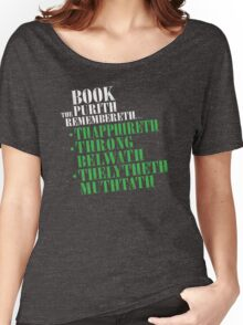 The Book Purist Remembers 4 Women's Relaxed Fit T-Shirt
