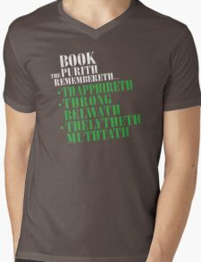 The Book Purist Remembers 4 Mens V-Neck T-Shirt