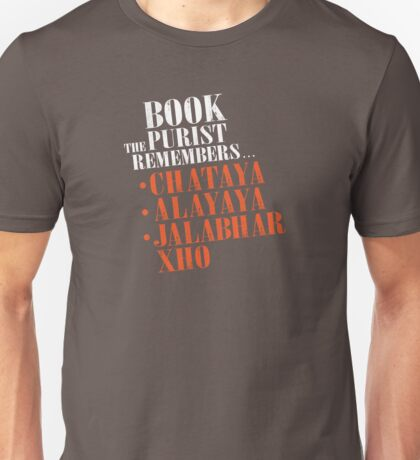 The Book Purist Remembers 2 Unisex T-Shirt