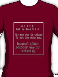 Way of thinking T-Shirt
