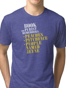 The Book Purist Remembers 1 Tri-blend T-Shirt