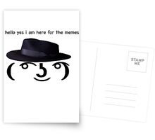 hello yes (Available on everything!) Postcards