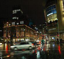Rain on George St by Yvonne Segda