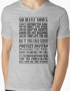 So Many Vows (Black) T-Shirt