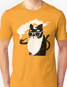 Whiskers And Pipe T-Shirt
