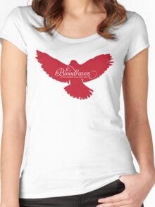 Bloodraven (Red) Women's Fitted Scoop T-Shirt