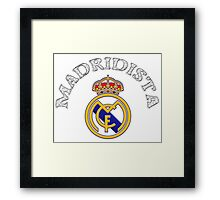 Madridista ~ [Updated] Framed Print