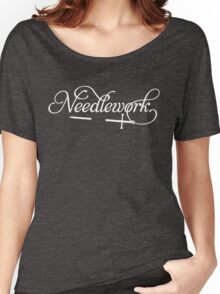 Needlework (white) Women's Relaxed Fit T-Shirt