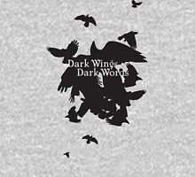Dark Wings Dark Words Unisex T-Shirt