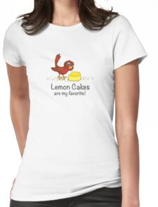 Lemon Cakes are my favorite! Womens Fitted T-Shirt