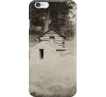 Soldiers Quarters Valley Forge iPhone Case/Skin