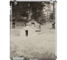 Soldiers Quarters Valley Forge iPad Case/Skin