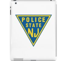 POLICE STATE (NJ) iPad Case/Skin