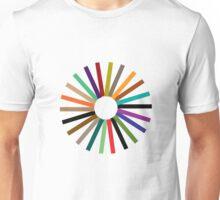 Colour Wheel T-Shirt Unisex T-Shirt